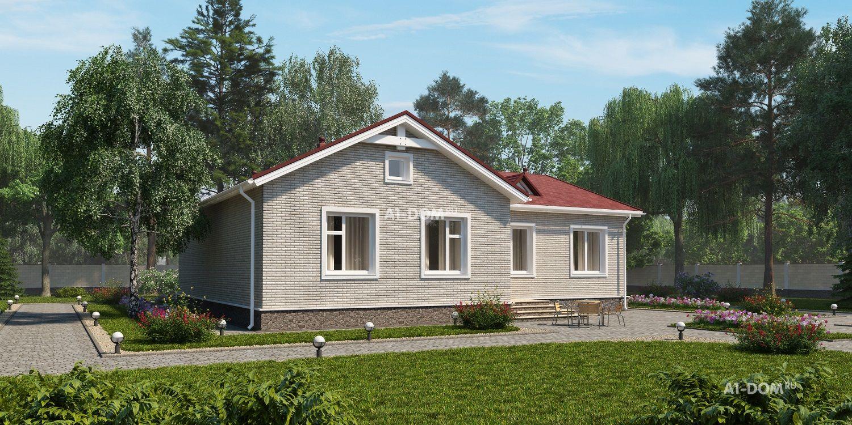 Дома из кирпича - проекты с ценами на строительство