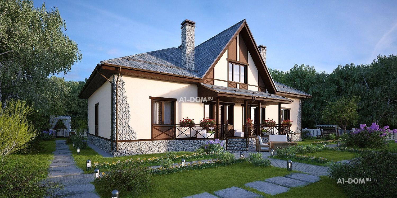 Строительство каркасных домов под ключ, проекты и цены