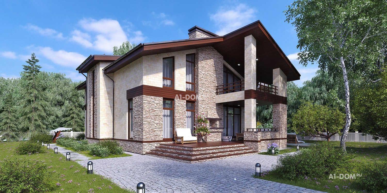 Строительство домов из кирпича под ключ в Санкт