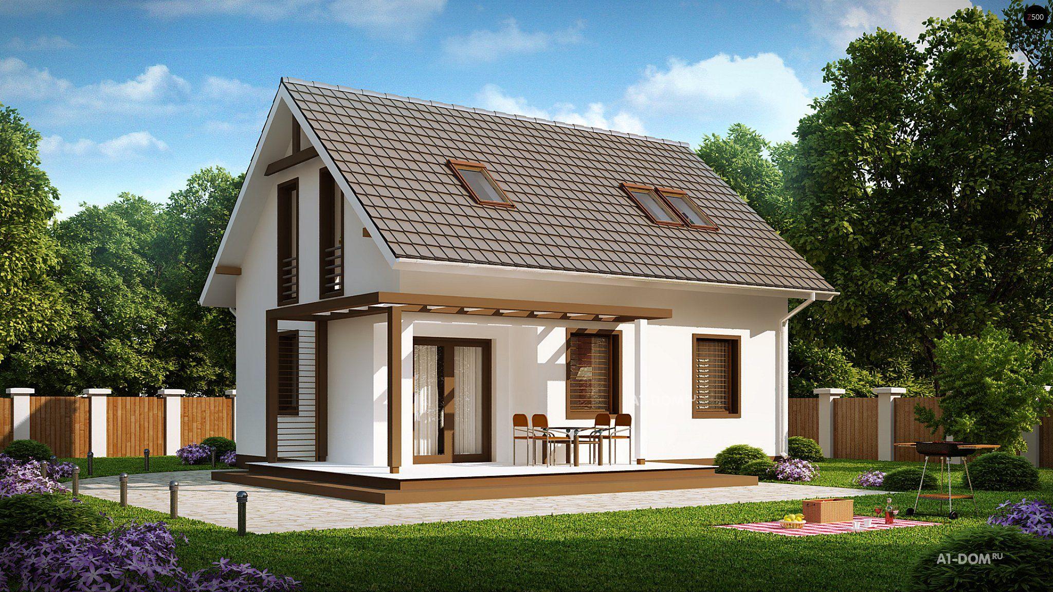Комфортабельный загородный дом с бассейном и сауной
