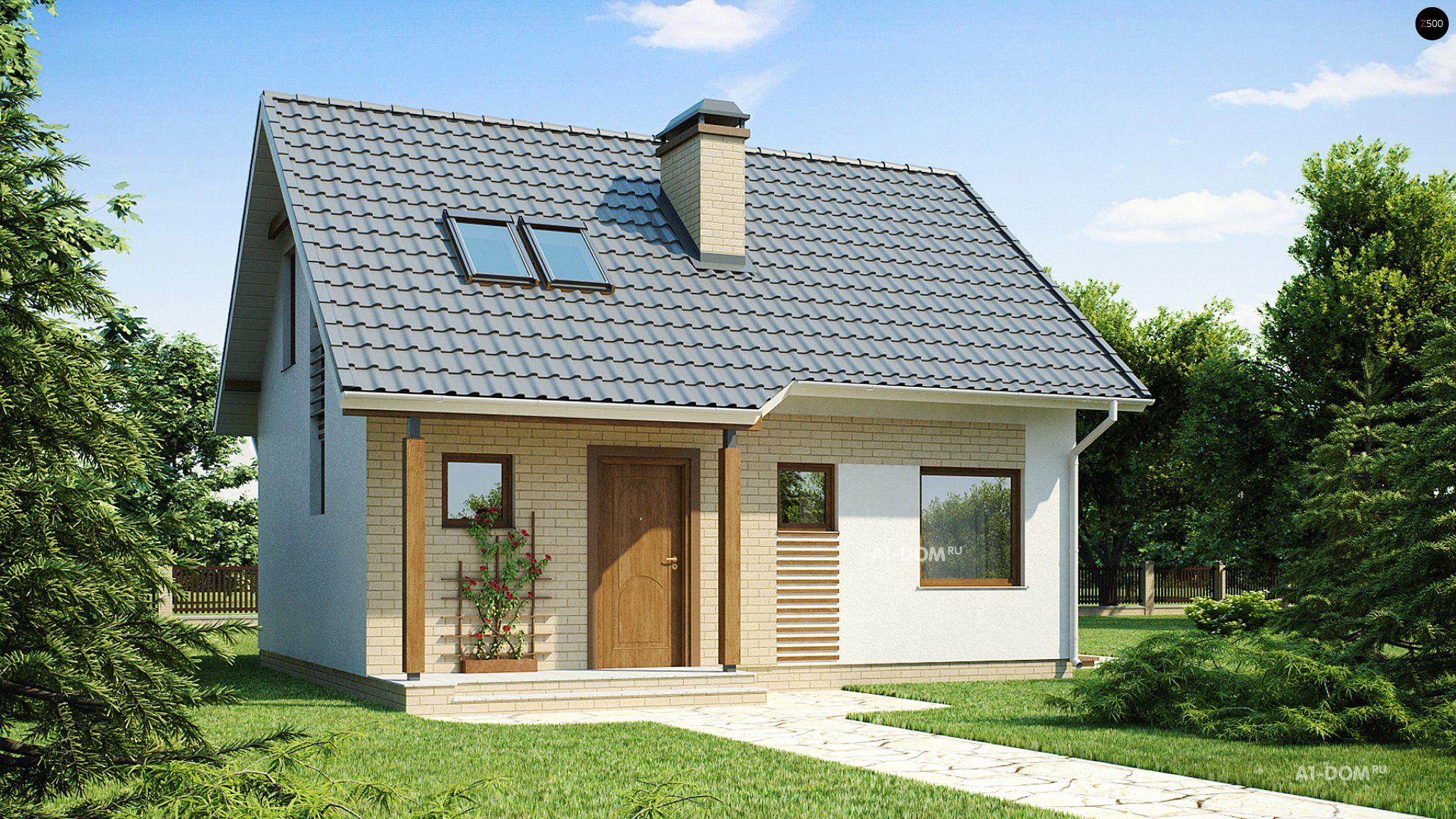 Проекты домов и проекты коттеджей в Украине - DOM4M