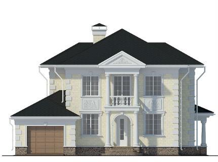 Проекты прямоугольных домов