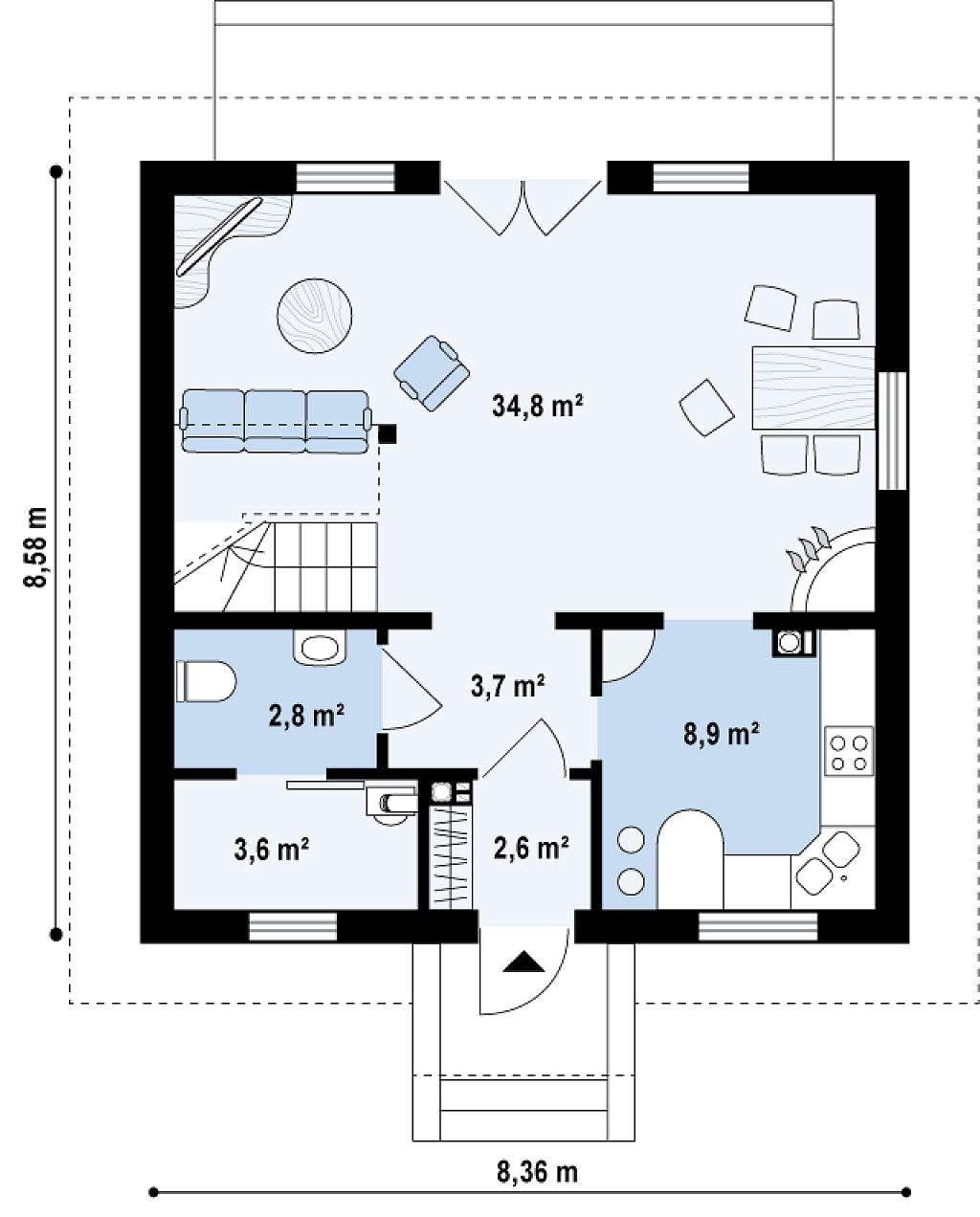 Дома 9х9