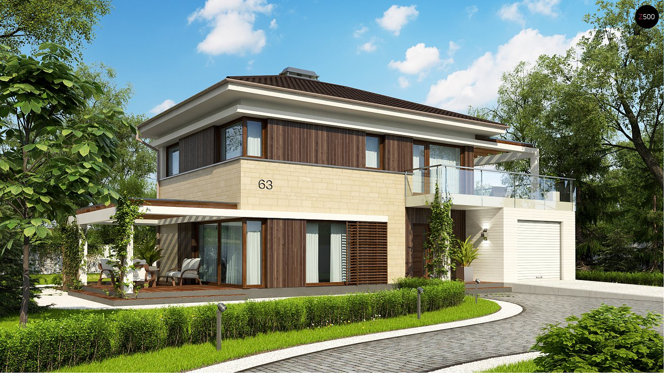 Строительство частных загородных домов и коттеджей под