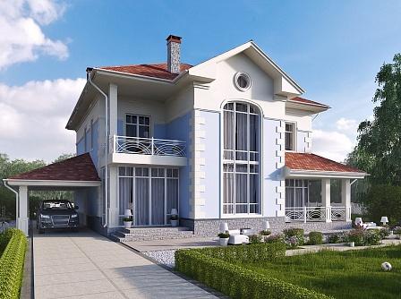 Дома под ключ проекты и цены в Уфе Дом из кирпича