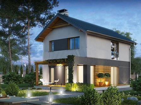 Дома под ключ из бруса: готовые проекты домов для