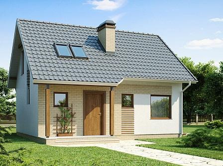 Проекты домов и коттеджей до 100 кв.м