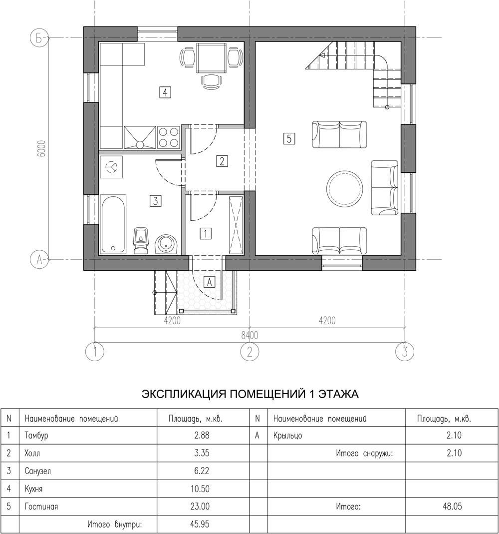 фото маленьких домов планировка
